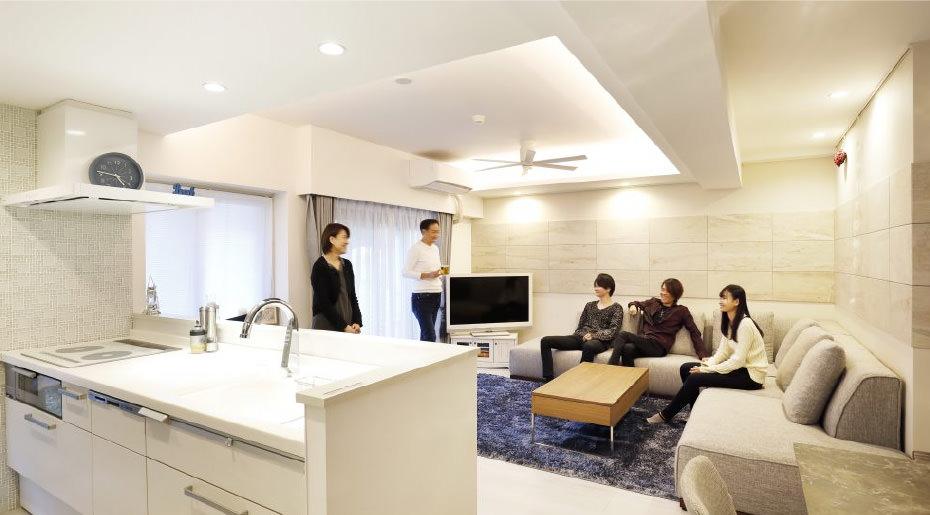 趣味と青の空間 ~理想のキッチン~