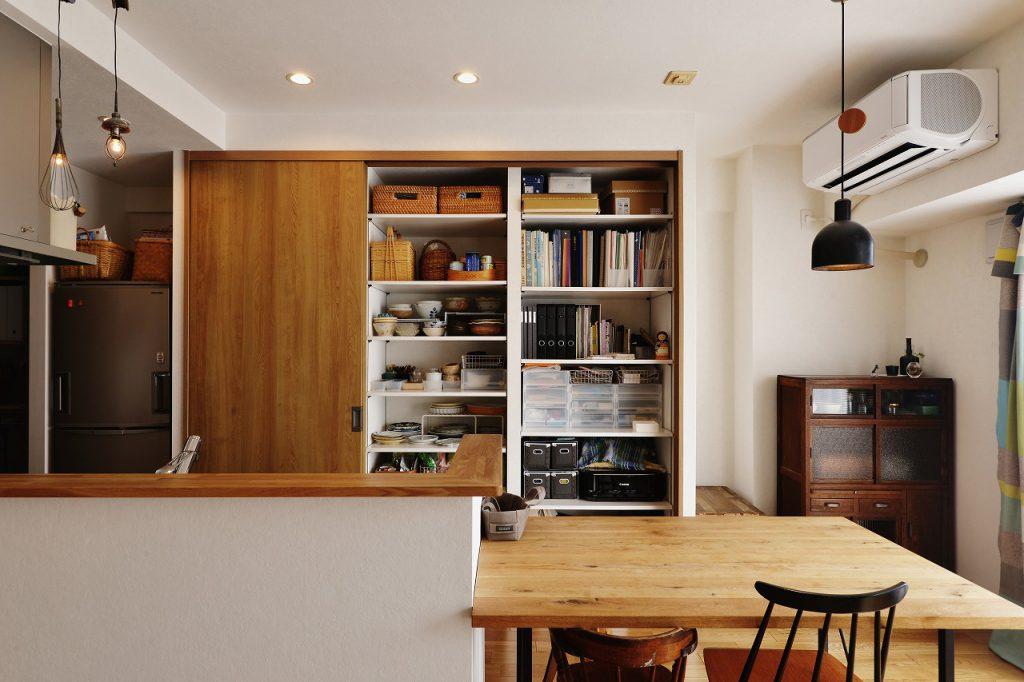 モノが溢れない高機能なキッチン