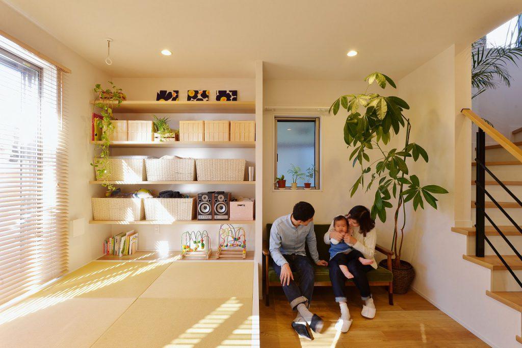 畳の寛ぎスペース